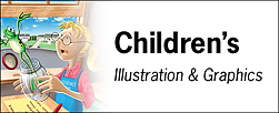 Children's Illustration Tearsheet Samples